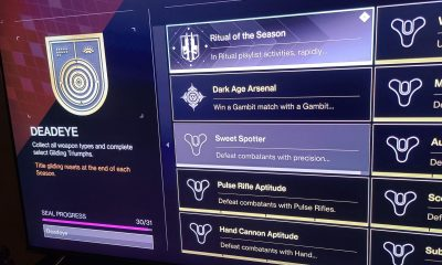 How to Get the Deadeye Seal in Destiny 2
