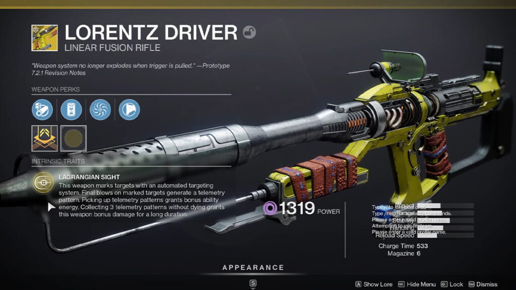 Is Lorentz Driver the best Exotic Fusion Rifle in Destiny 2?