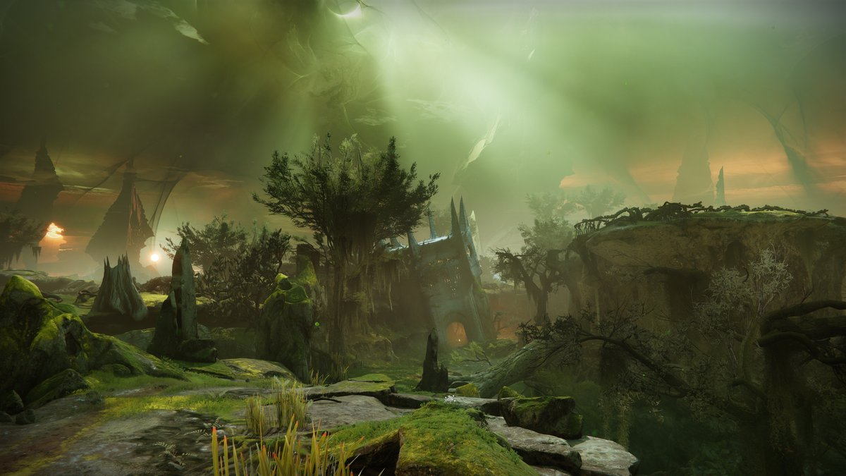Have you Noticed the Broken Pyramid in Savathun's Throne World in Destiny 2 The Witch Queen